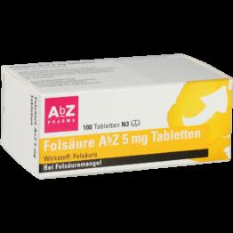 01234562 Folsäure AbZ / -ratiopharm /STADA