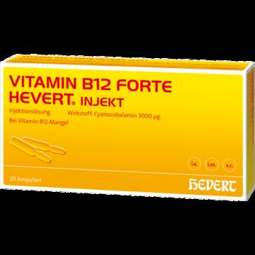 02840419 Vitamin B12 Hevert / Jena -pharm / Lichtenstein / -ratiopharmInjektionslösung