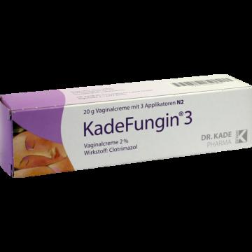 03767802 KadeFungin 3 Vaginal --creme / -tabletten