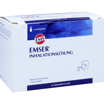 08491724 Emser Inhalationslösung / Nasenspray/ Nasentropfen / Salz